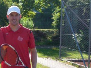 Christian Ahle: Die Nummer eins der SGE gewann Einzel und Doppel beim 3:3 gegen Karlskron