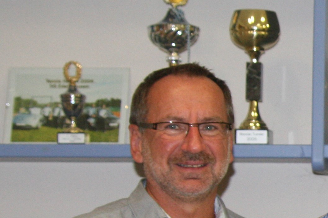Wiedergewählter SGE-Tennis-Abteilungsleiter Oswald Prummer