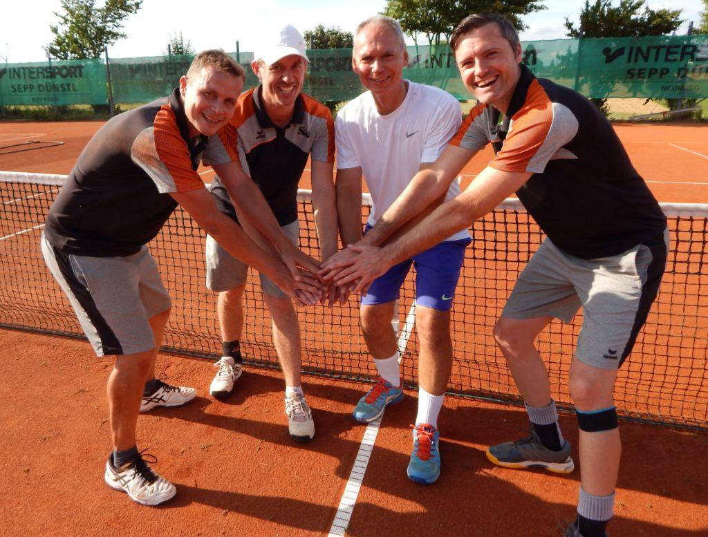 von links: Thomas Sutner, Christian Ahle, Hardy Kleinschmidt und Tobias Nabe